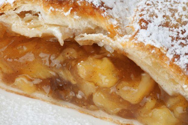 10 sobremesas para colocar a maçã em destaque - Strudel de maçãs