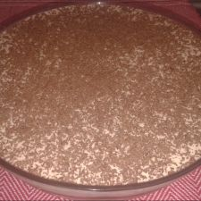 Creme de Damasco com Chocolate