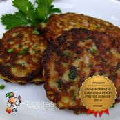 FishCake de Atum Enlatado