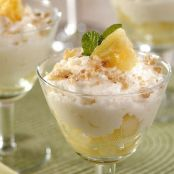 Verrine de Merengue e Abacaxi