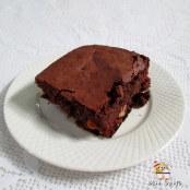 Brownie com damascos