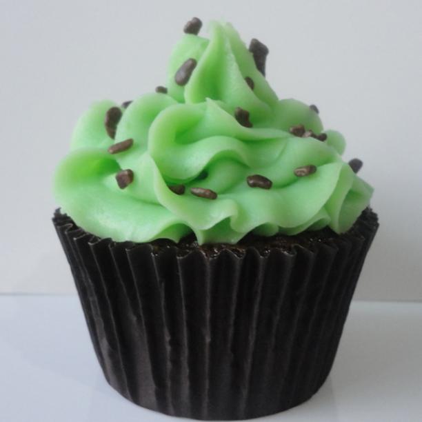 Cupcake De Chocolate Com Menta 4 3 5