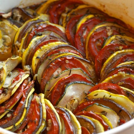 Ratatouille ao forno 4 1 5 for Comida nacional de francia