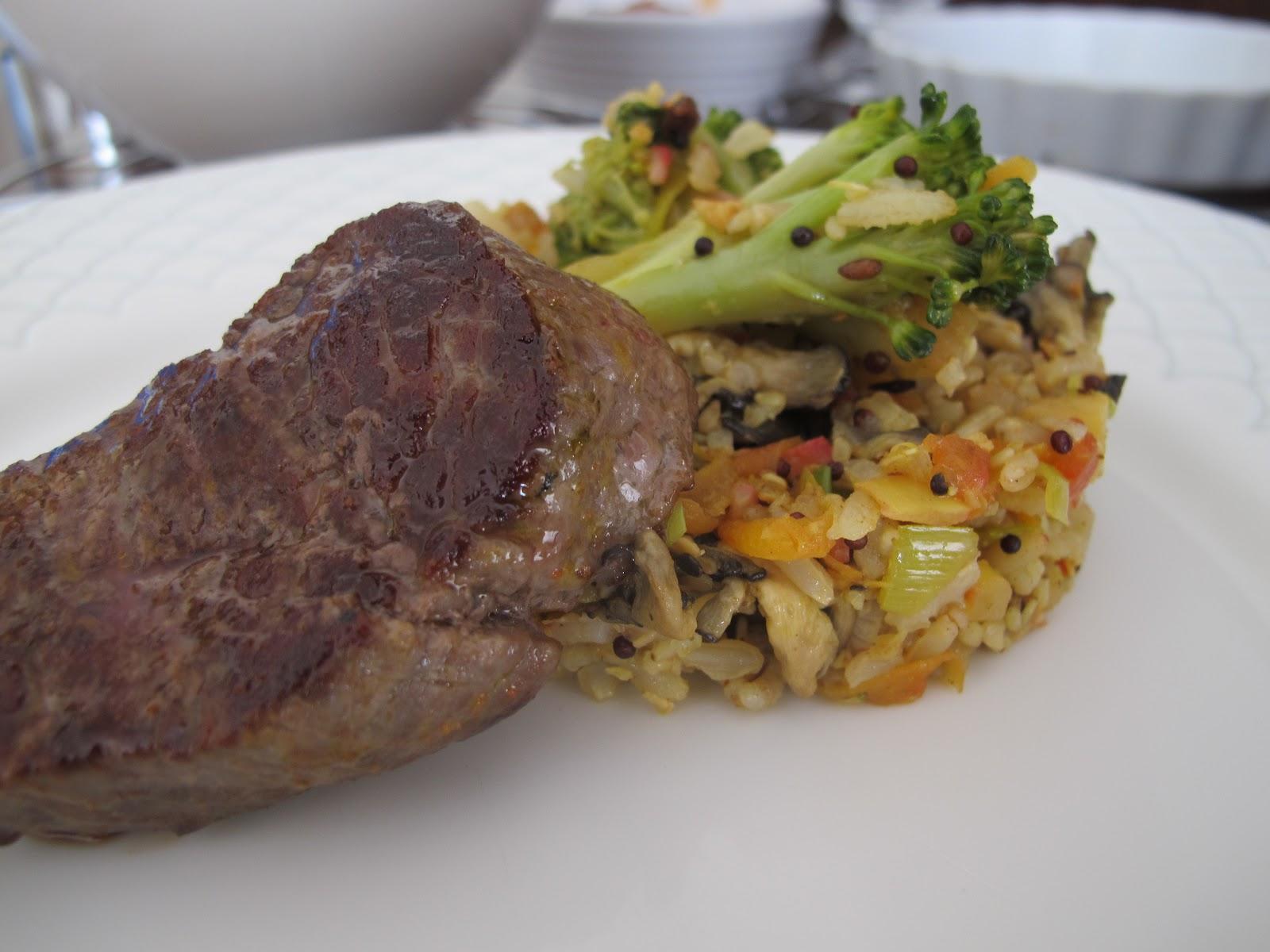 Risotto vegetariano - Risotto arroz integral ...