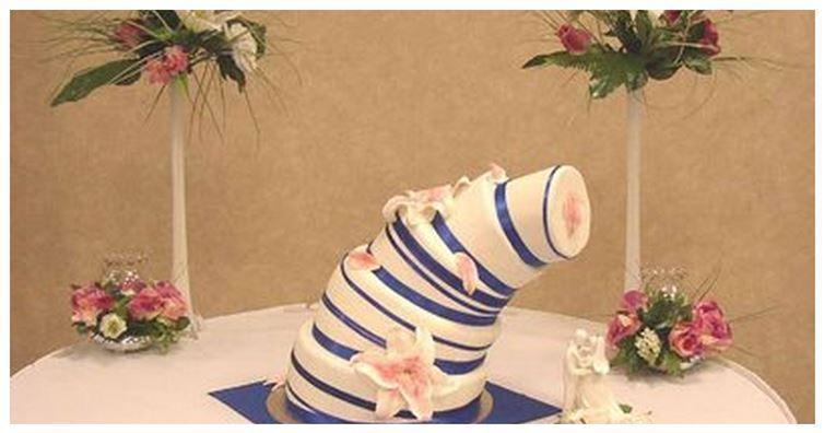 10 bolos de casamento mais errados que você já viu!